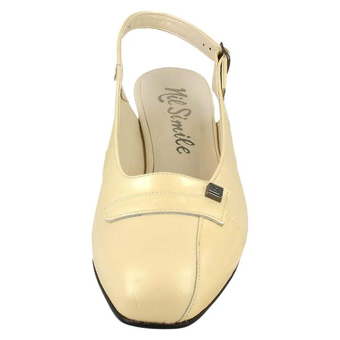 923a4360831 Nil Simile Ladies Narrow Fitting Slingback Shoes  Amazon.co.uk  Shoes   Bags