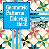Geometric Patterns Coloring Book Relaxing Designs For Kids Adults Volume 42 Sacred Mandala