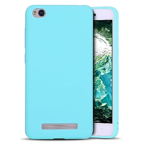 MoEvn Redmi 4A Funda, Carcasa para Xiaomi 4A, Case Cover TPU Suave Silicona, Slim Anti Skid Anti Rasguño Color Gel Funda para Xiaomi Redmi 4A - 5.0 ...