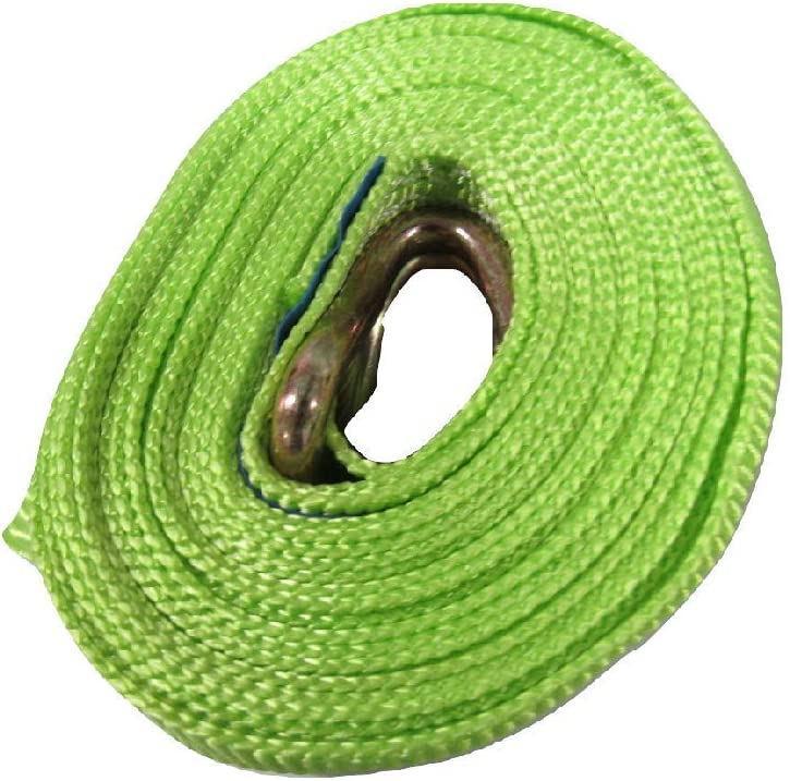 35MM Ratchet Straps 6M 3 Ton High Visibility Lashing with J Hook x10