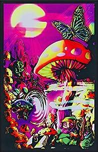Amazon Com Generic Magic Valley Trippy Mushrooms Art