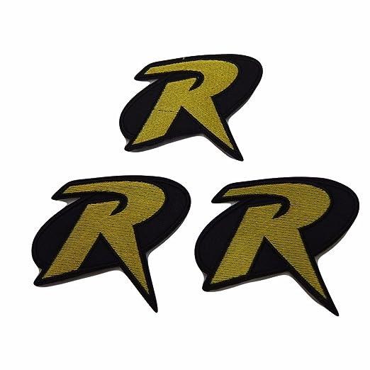 Amazon Batman Robin Big R Symbol Patch Set Of 3 Patches Clothing