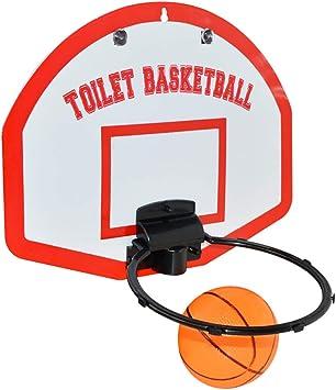 Amazon.com: Juego de juguetes de baloncesto para inodoro ...
