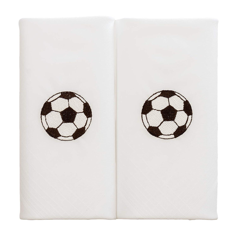 White Dalaco Mens Rugby Handkerchiefs