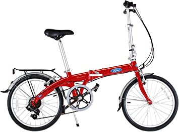 Ford by Dahon Convertible Bicicleta Plegable de 7 velocidades ...