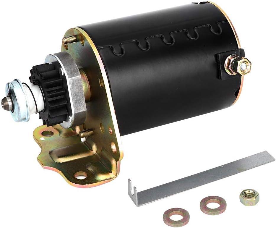 Motor eléctrico 16 dientes de plástico para tractores cortacésped con motor Briggs y Stratton OEM 499521 80CC (mL)