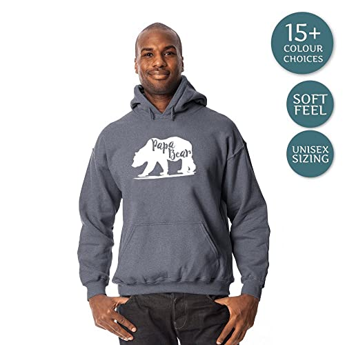 Papa Bear Hoodies Father/'s Day Gift Dad Life Daddy New Dad For Dad Sweatshirts