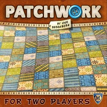 Patchwork - Juego de mesa en Español: Amazon.es: Juguetes y juegos