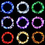 Wenini Christmas Fairy Tale Light - 5M String Fairy Light 50 LED Battery Operated Xmas Lights Party Wedding Lamp- for Christmas Tree Home Decoration