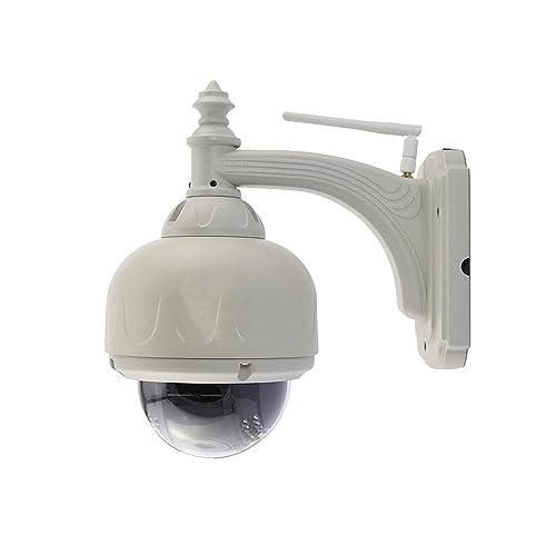 Sécurité Mania - Caméra dôme motorisé extérieur IP, WIFI, HD 720P avec application mobile