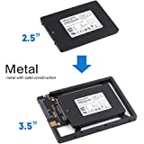 "2.5"" to 3.5"" Drive Converter Internal Solid State SSD Card Hard Drive Bracket Adapter SATA SSD Enclosure Caddy Dock Desktop M"