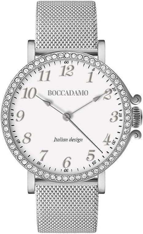 Boccadamo Time Orologio Donna Princess Con Swarovski Pr018 Amazon It Orologi