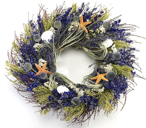 Lavender Isles Beach Wreath
