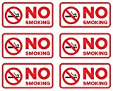 Versatile | Suitable for indoor or outdoor use Hey, you! Yes, you! No smoking is allowed here! Let visitors and passersby know that smoking is not allowed in the area with this handy sticker. Laminated and made of high quality vinyl stock, this stick...