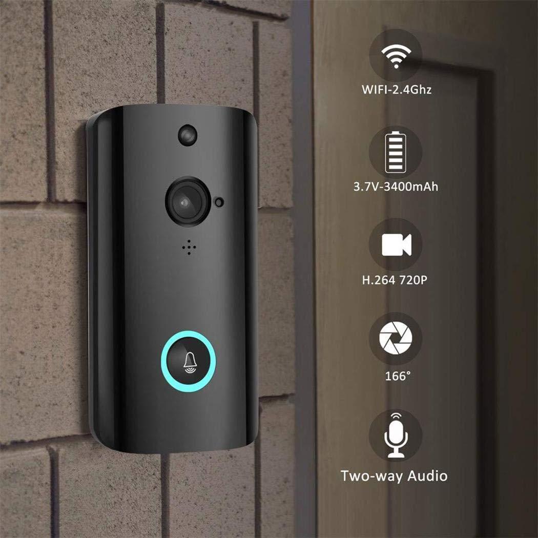 Low Power Intelligent Wifi Voice Intercom Doorbell Home Monitoring Doorbell