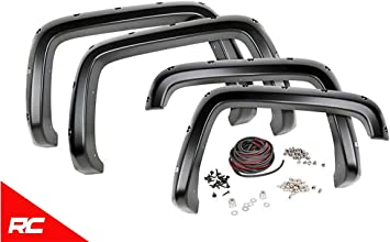 fits 2007-2014 Chevy Silverado 2500 3500 F-C10714A Rough Country Fender Flares