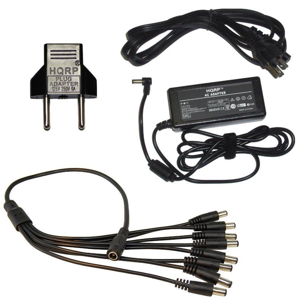 DC Power Cable for Q-See QT228-8H4 QT228-4H4 QC308-6D3 QT578-8C2 QC828-4C9-2