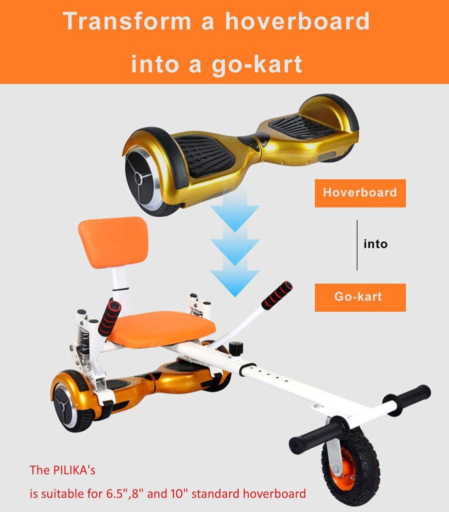 Pilika Hover Kart para Hoverboard con amortiguador de choque y neumš ...