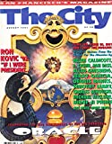img - for The City, San Francisco's Magazine, August 1991 book / textbook / text book
