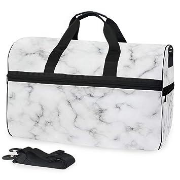 Amazon.com: ALAZA - Bolso de mano de mármol blanco con velas ...
