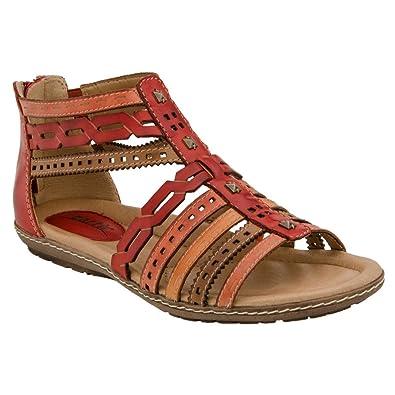 6fb4f873fc2b14 ... You Found Me Gladiator Sandal in Black best deals on 68af6 0643f  Earth  Women s Bay Scarlet Multi Soft Leather Sandal