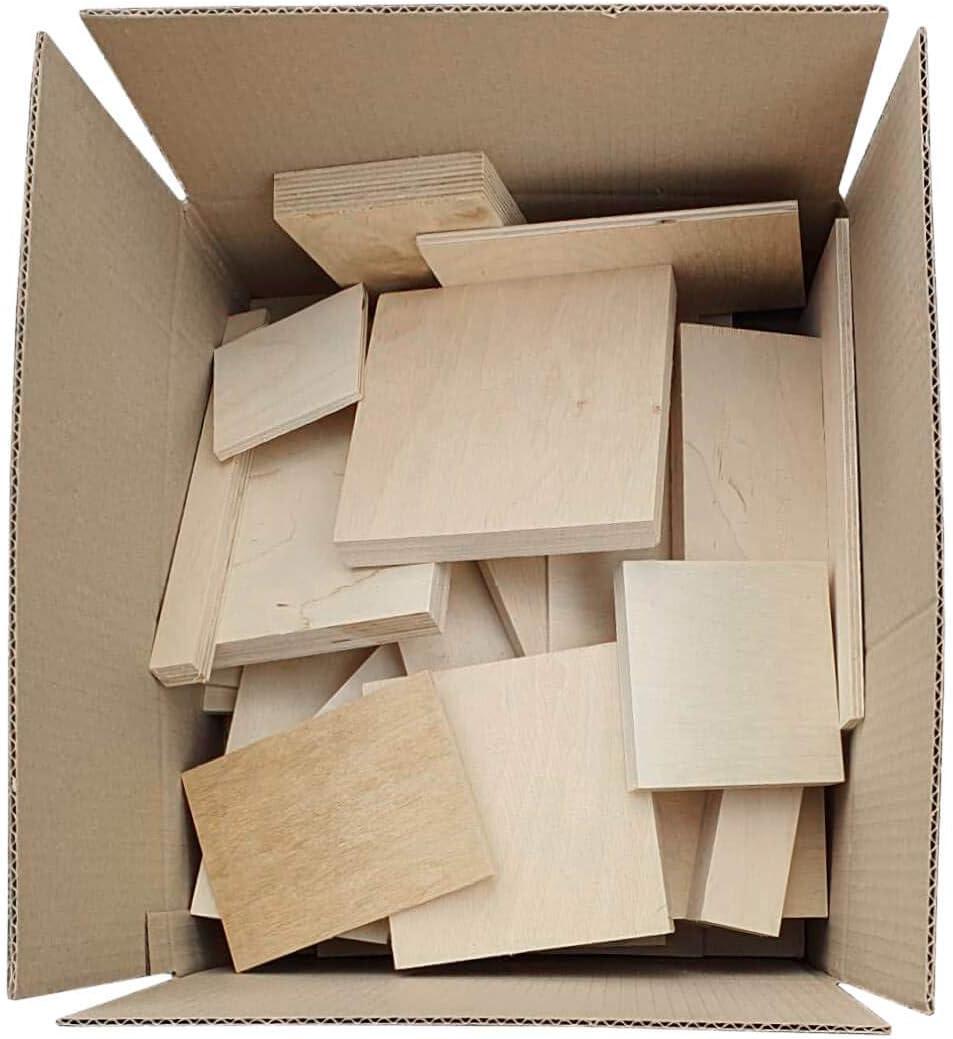 5-20 kg Birke Multiplexplatten 3mm-30mm Reste Sperrholz Platten Zuschnitt Multiplex Holz unbehandelt 5 kg