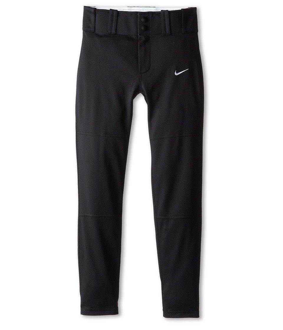 Boy 's NikeコアDri Fit Open Hem Baseball Pant B00L9JQPIC S|ブラック ブラック S