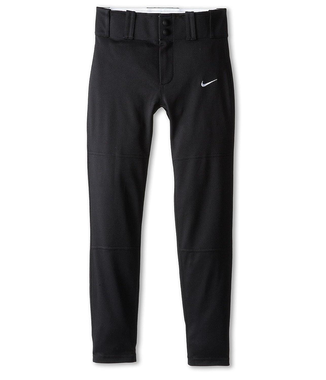 Boy 's NikeコアDri Fit Open Hem Baseball Pant B00L9JQQ6Sブラック Medium