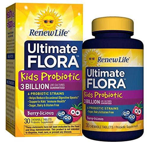 Ultimate Probiotic Supplement Chewable Tablets