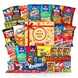 Care Package (50 Count) Cookie Chips & Candies Party Snack Gift Bundle …