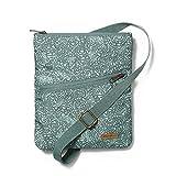 Eddie Bauer Unisex-Adult Connect 3-Zip Travel Bag, Stream Regular ONESZE