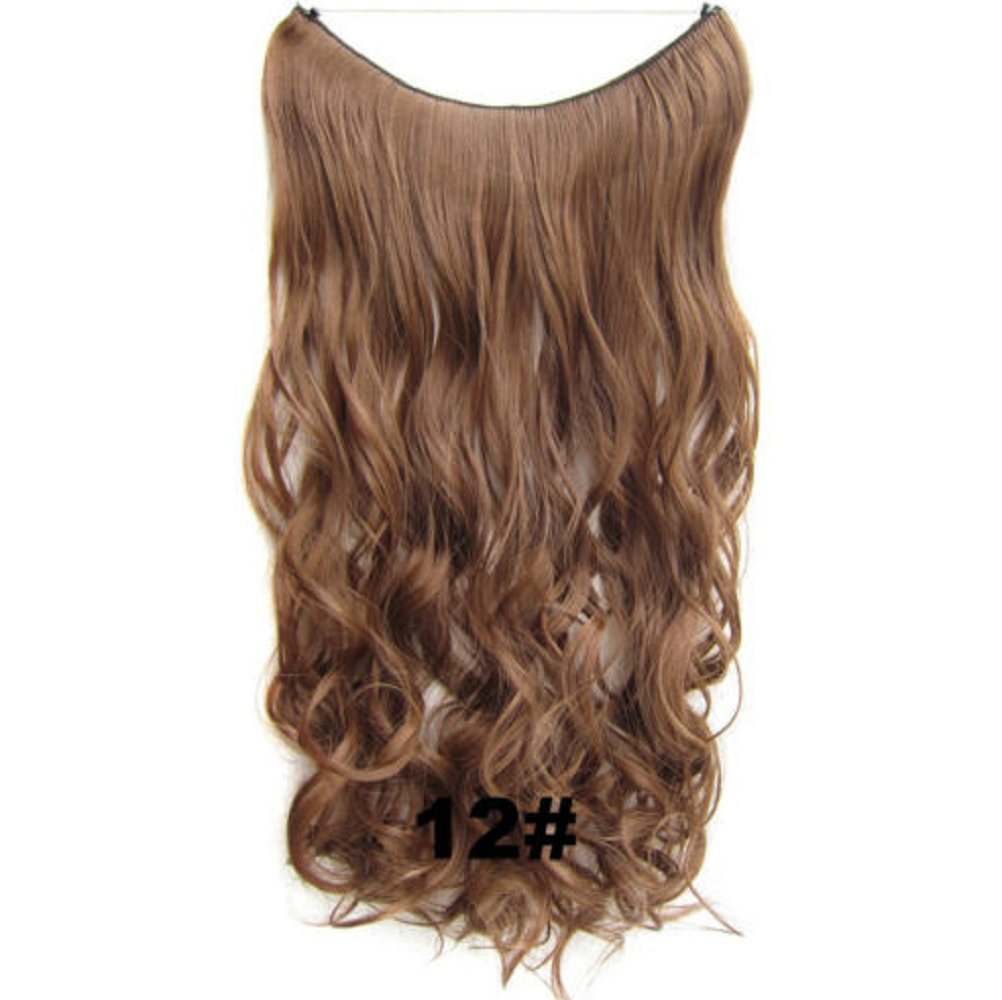 Amazon 12 Silver Hair Extensions Curly Weave Colorful Secret