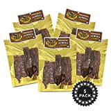 Climax Jerky BEST All Natural 3.25 OZ. Smoked Turkey Jerky – Tender and Juicy - No Preservatives - High Protein - Low Carbs (Smoked Turkey, Smoked Turkey 5 Pack)
