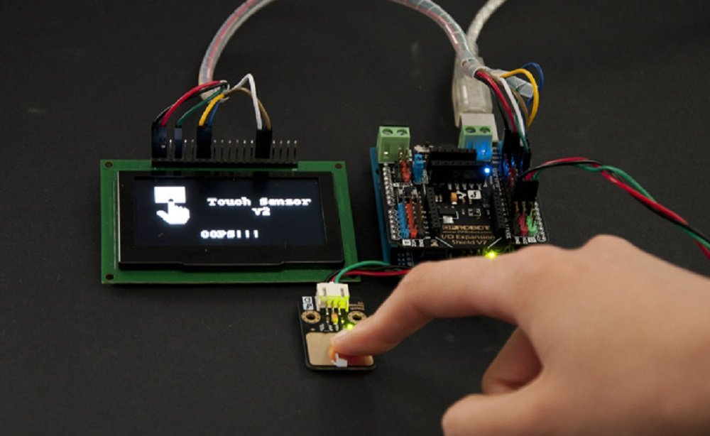 DFRobot Gravity: Digital Capacitive Touch Sensor for Arduino by DFROBOT (Image #7)