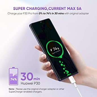 Amazon.com: UGREEN - Cable USB C 5A Huawei Supercharge tipo ...