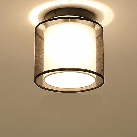 XHOPOS HOME Lámpara de techo chino luces de pasillos corredores iluminación LED moderno salón dormitorio luces