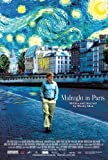 "Midnight In Paris (Woody Allen) Movie Poster 24""x36"" New. Ships Rolled In Shipping Tube."