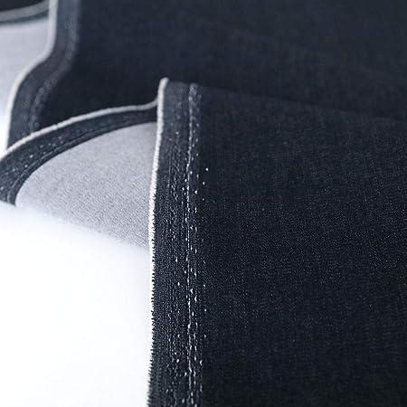 JEANS-Stoff Bekleidungsstoff Segeltuch Baumwolle Hosen Jacken schwarz Meterware