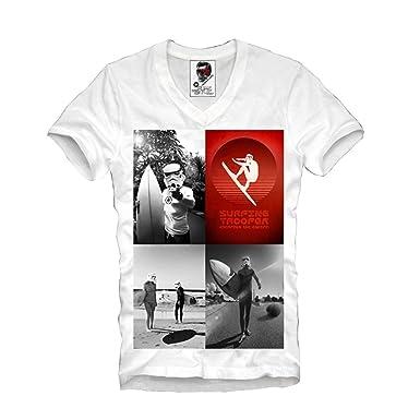 c9adda70 Alida Liuwer E1SYNDICATE MENS V-NECK T-SHIRT WASTED YOUTH ELEVEN ZOMBIE  TATTOO S/M/L/XL: Amazon.co.uk: Clothing