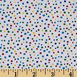 Multi Fabric Polka Dots Fabric