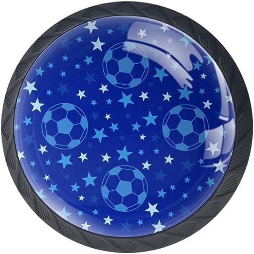 EZIOLY - Pomos decorativos para armarios de fútbol, diseño de ...