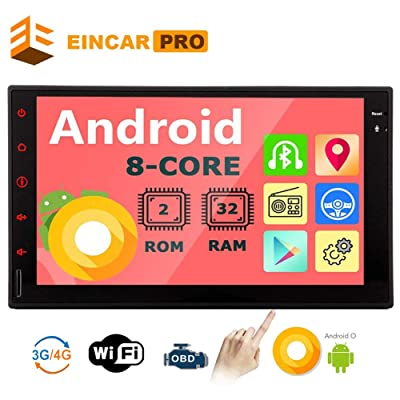 Double Din Car Stereo Android Head Unit 2 Din Car Radio Bluetooth GPS Navigation 7 inch Touch Screen Radio with in Dash Auto Audio Headunit 8 Core Car Tablet Receiver Support 2GB 32GB WiFi Video Out: Automotive