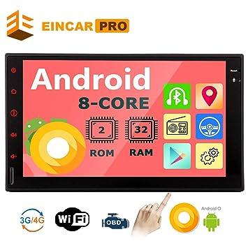 "Android 8.1 2Din Car Stereo Radio Head Unit 7/"" Stereo Radio 8Core GPS Wifi AM//FM"