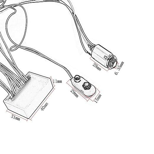 monkeyjack geladen Verkabelung Potentiometer 3 Band AMP EQ Preamp ...