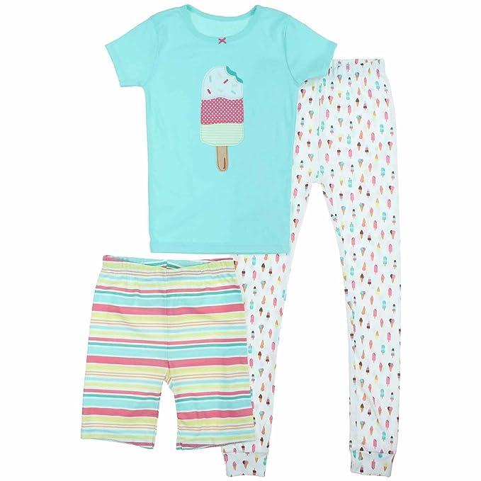 99715fbfaa Amazon.com  Carter s Little Girls 3 Piece Mix and Match Cotton ...
