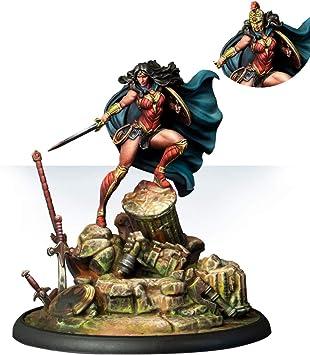 Knight Models Juego de Mesa - Miniaturas Resina DC Comics Superheroe - Wonder Woman: Amazon.es: Juguetes y juegos