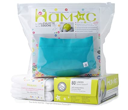Hamac Starter Kit contiene las braguitas Hamas, un insertable lavable, uno desechable y un