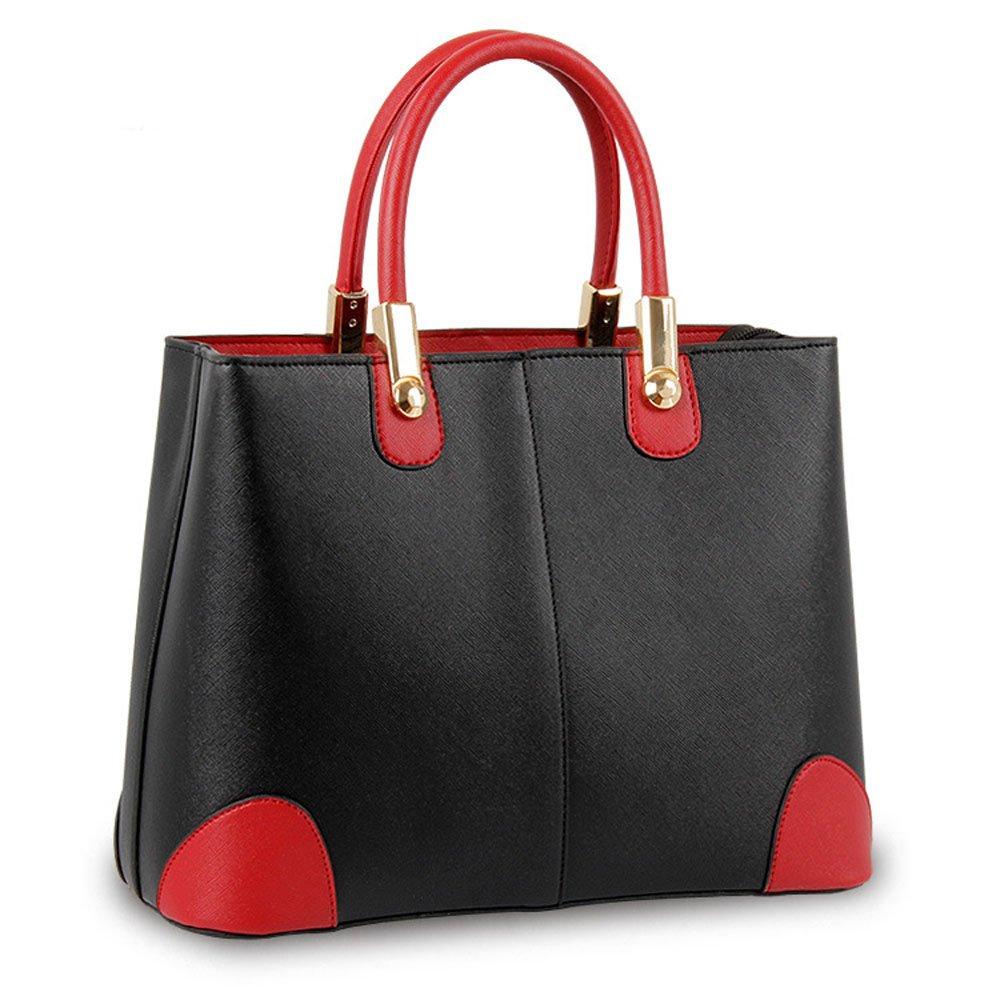 Catkit Charm Womens Panelled Design Tote Bag Shoulder Crossbody Satchel