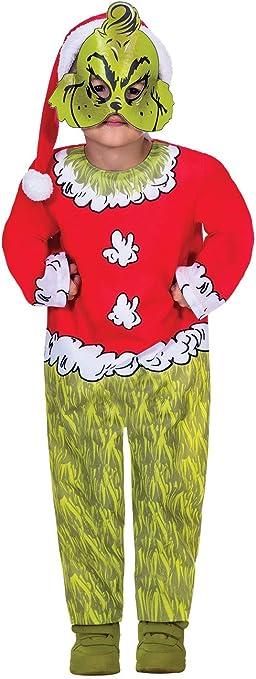 Disfraz de Papá Noel Dr Seuss de Navidad para niños y niñas ...