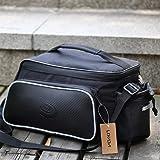 ROSWHEEL Multifunktions Fahrrad Sport Outdoor hinten Sitz Trunk Bag R¨¹cken Schulter Handtasche